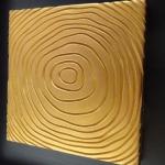 bas relief platre lignes arbre 15 cm anais preaudat