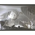 Décors thème Méllies en plâtre, réalisé lors du DMA