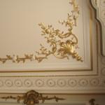 Restauration à l'identique du plafond de la préfecture de Chartes lors de mon CAP Staffeur ornemaniste