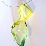 bijou bonbon plexiglas vert jaune anais preaudat