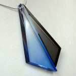 Triangles bleu et noir