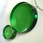 collier bulles vertes plexi anais preaudat