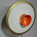 sculpture plexi cercle or anais preaudat