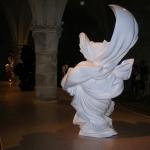 Sculpture robes drapées 2 mètres de hauteur pour Orlan.