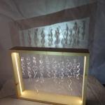 sculptures cadre volutes transparent plexi anais preaudat