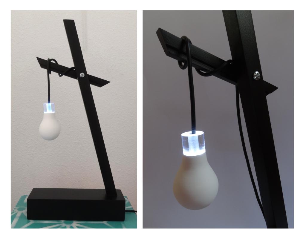 ampoule art sculpture plexi bois platre anais preaudat