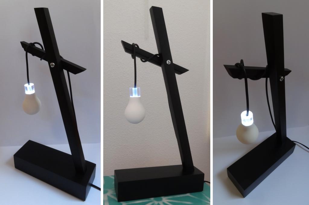 sculpture lumineuse ampoule plexiglas anais preaudat